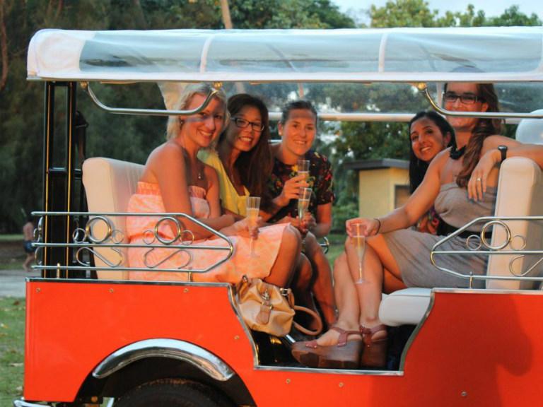 Sunset Cocktail Happy Hour Hop on Rarotonga - part of travel trip advisor rarotonga