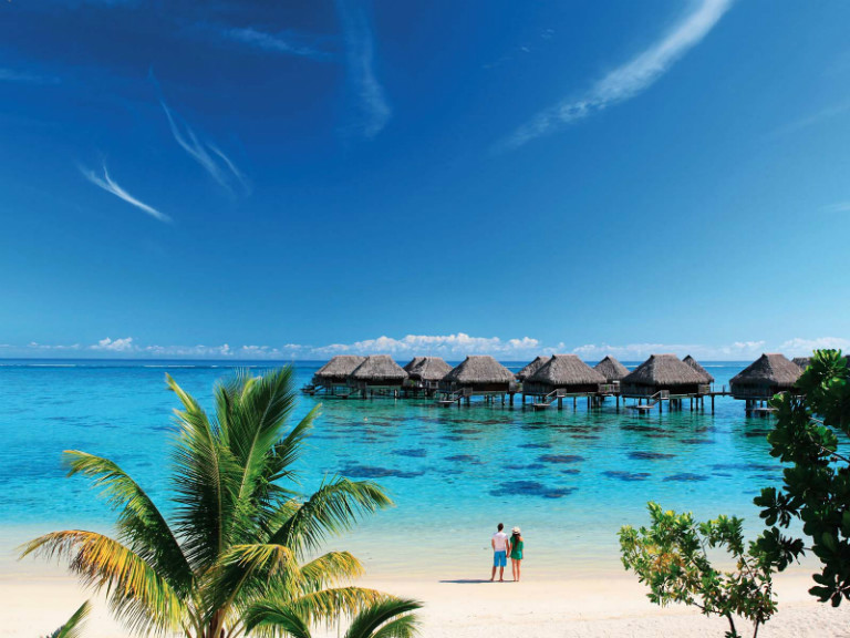 Hilton Moorea resort hotel - one of many tahiti accommodation options